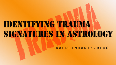 Identifying Trauma Signatures in Astrology